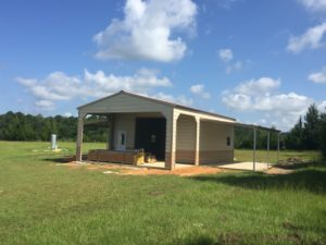 Metal Building With Carport Dothan AL