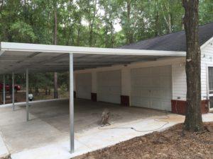 3 bay carport