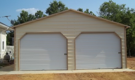 Double A Frame Garage With Dutch Openings #6010