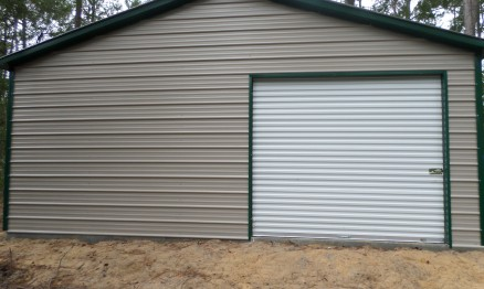 Double A Frame Garage With Extra Door 6014 Stor All