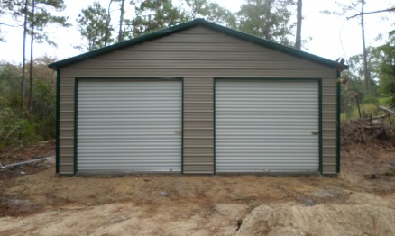 Double a frame garage with extra door 6014 stor all for A frame garage